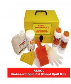 Biohazard Spill Kit (Blood Spill Kit) - Manufacturer