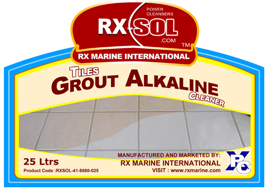 Tiles Grout Alkaline Cleaner Manufacturer Supplier
